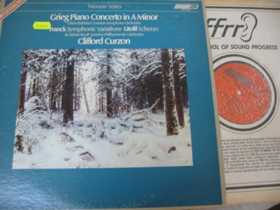 Grieg - CURZON - PIANO CONCERTO - LONDON