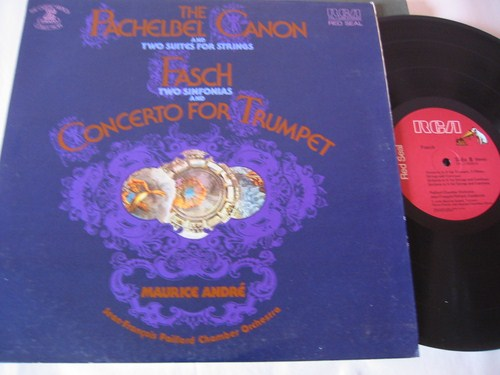 Pachelbel . Fasch - Canon . Trumpet - Maurice Andre - RCA