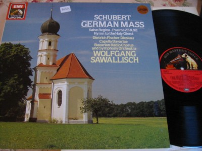 SCHUBERT - GERMAN MASS - DISKEAU - SAWALLISCH - EMI { 858