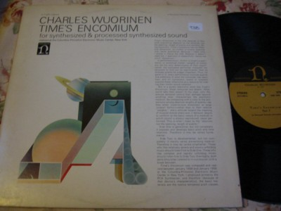 CHARLES WUORINEN - SYNTHESIZER - NONESUCH { R 938
