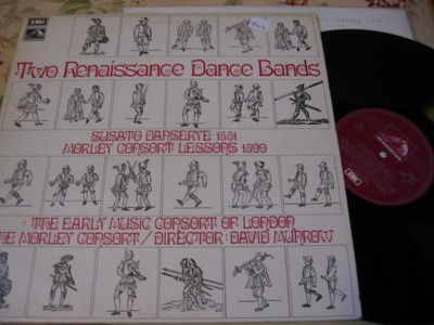 RENAISSANCE DANCE BANDS - MURROW - EMI { R 944
