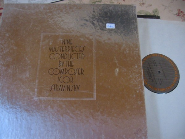 STRAVINSKY - NINE MASTERPIECES - COLUMBIA 6LP 582
