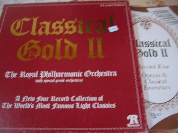 VARIOUS ARTISTS - CLASSICAL GOLD 2 - RONCO RECORDS 4LP 584