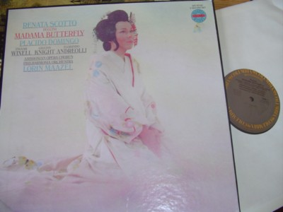 PUCCINI - MADAME BUTTERFLY - SCOTTO MAAZEL - COLUMBIA {R 1416
