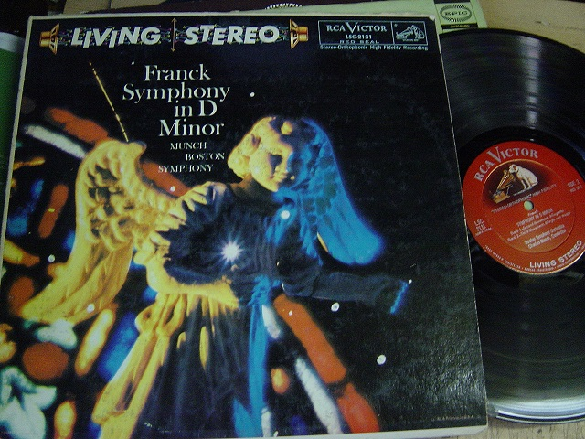 LSC-2131 Franck Symphony in D Minor - Munch Boston