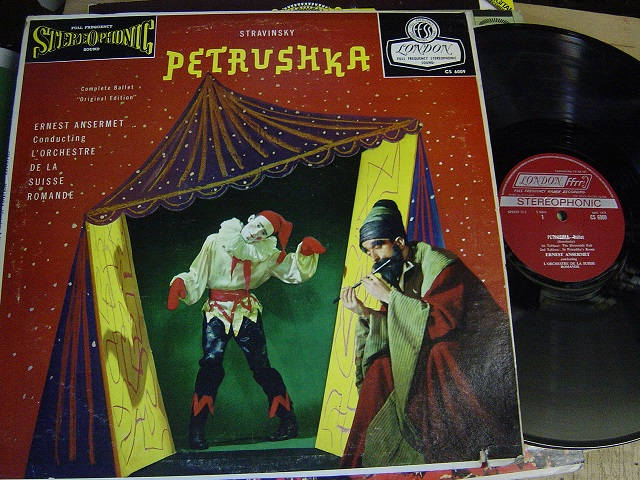 Stravinsky - Petrushka - Ansermet - London CS 6009
