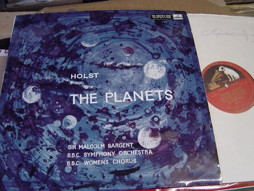 Holst - The Planets - Malcolm Sargent - HMV ALP 1600