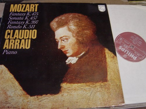 Claudio Arrau Piano - Mozart Fantasy Sonata - Philips 6500782