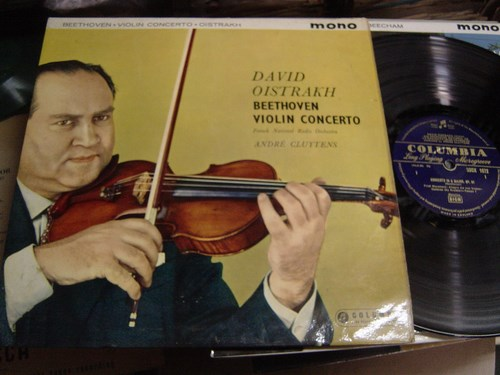 David Oistrakh - Beethoven Violin Concerto - Columbia 33CX 1672