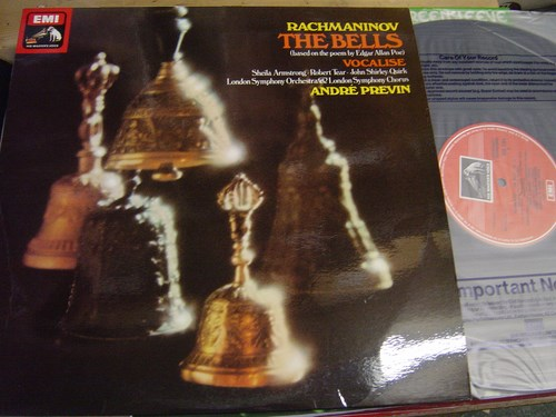 Rachmaninov - The Bells - Andre Previn - ASD 3284 TAS