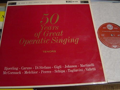 Various Artists - 50 Years Great Operatic Singing - RCA RB16198