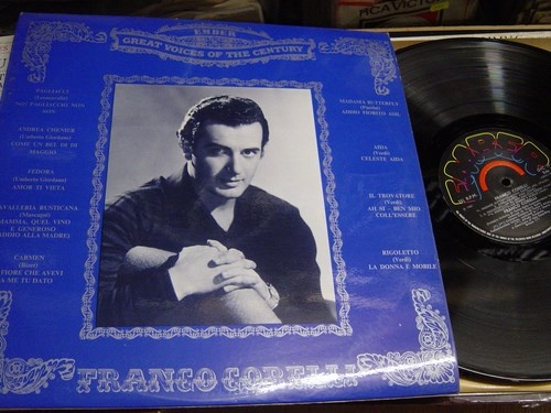 Franco Corelli - Great Voice of Century - Ember GVC.19