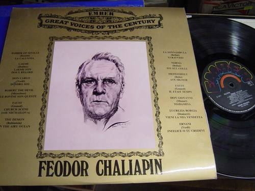 Feodor Chaliapin - Great Voice of Century - Ember GVC.5