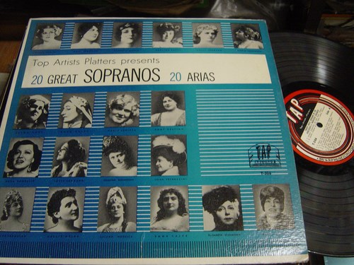 Various - 20 Great Sopranos / 20 Arias - Tap Records T.306