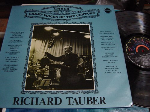 Richard Tauber - Great Voice of Century - Ember GVC.4