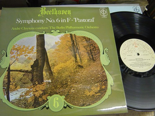 Beethoven - Symphony No 6 - Cluytens - CFP 40017