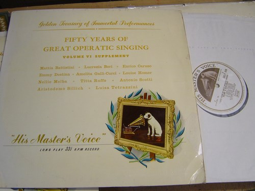 Various Artists - 50 Years Great Operatic Singing - HMV CSLP 516