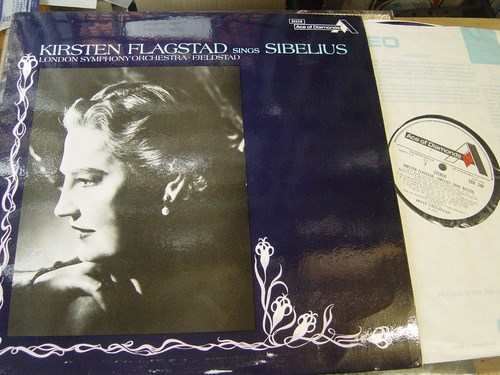 Kirsten Flagstad - Sings Sibelius - Ace of Clubs SDD248