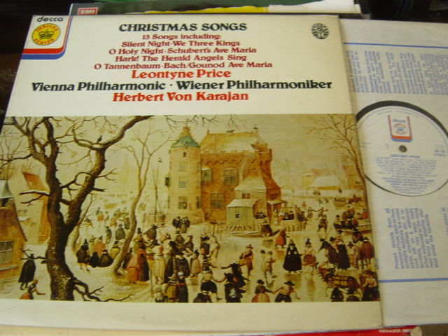 LEONTYNE PRICE - CHRISTMAS SONGS - KARAJAN DECCA JB 38