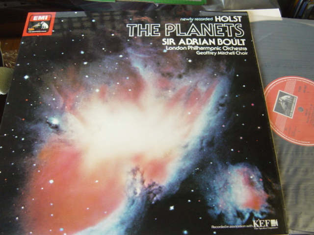 Holst - The Planets - Adrian Boult - EMI ASD3649
