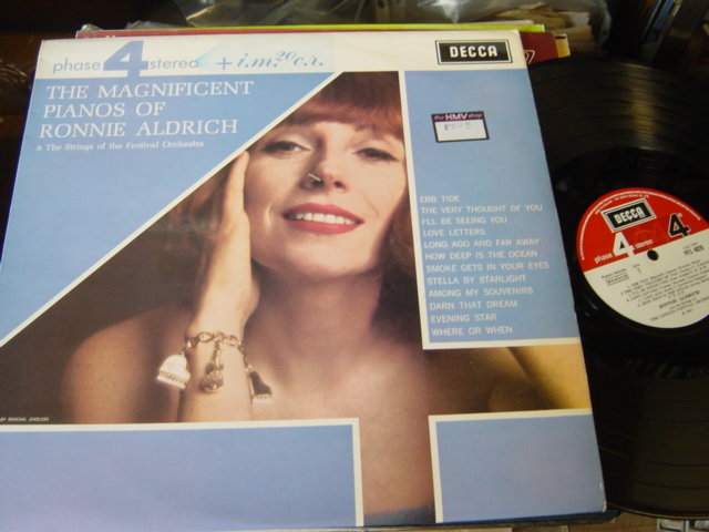 Ronnie Aldrich - The Magnificent Piano - Phase Four PFS 4028