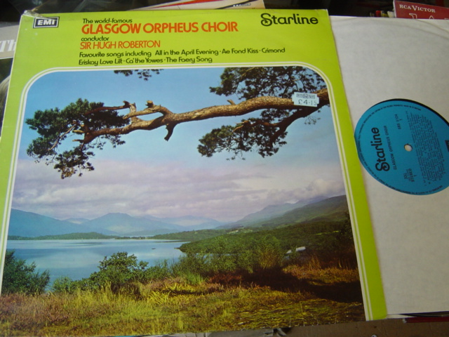 Glasgow Orpheus Choir - The World Famous - EMI SRS.5124
