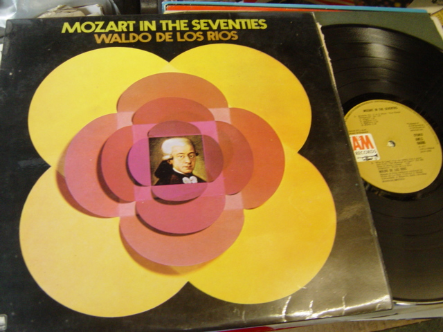 Waldo de los Rios - Mozart in the Seventies - A & M AMLS 68066