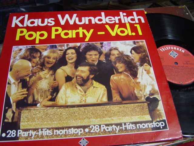 Klaus Wunderlich -Pop Party Vol. 1 - Telefunken 6.23802 AS