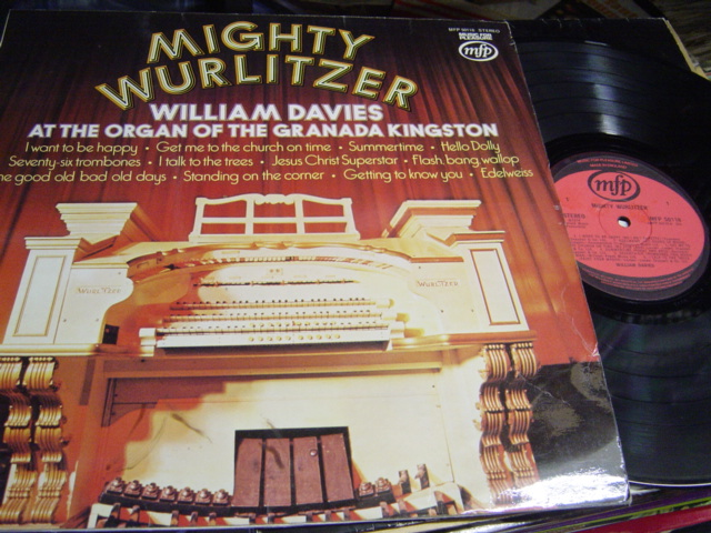 William Davies - Mighty Wurlitzer - MFP 50118