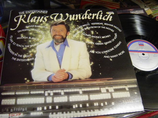 Klaus Wunderlich - The Entertainer - Decca DBC.13 2 LP