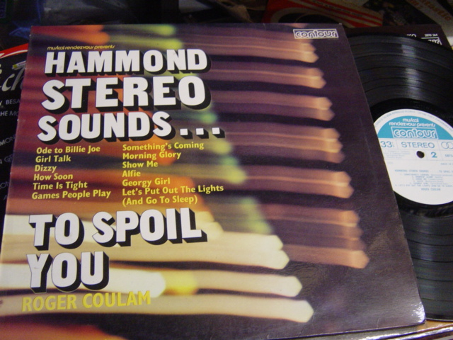 Roger Coulam - Hammond Stereo to Spoil You - Contour 6870524