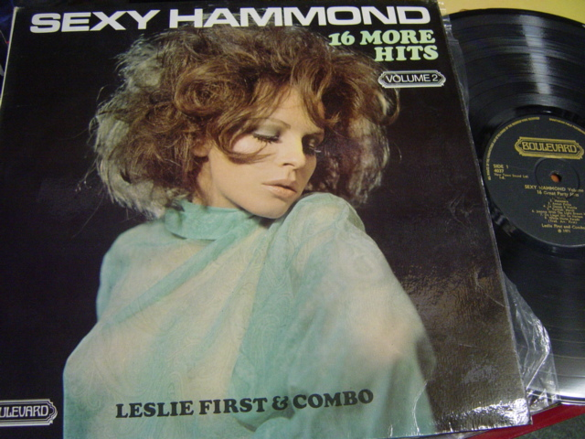 Leslie First - Sexy Hammond Vol 2. - Boulevard 4037