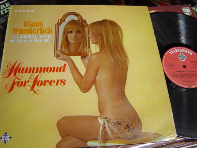 Klaus Wunderlich - Hammond for Lovers - Telefunken SLE 14489-P