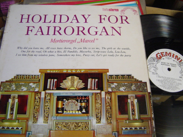 Mortierorgel Marcel - Holiday for Fairground - Gemini GMX.5018