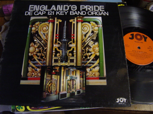 De Cap 121 Key Band Organ - Englands Pride - Joy JOYS.237