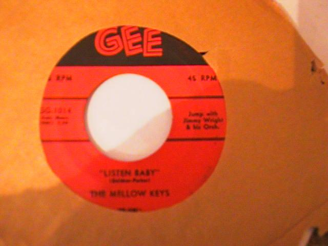 THE MELLOW KEYS - GEE RECORDS 1014 { 770