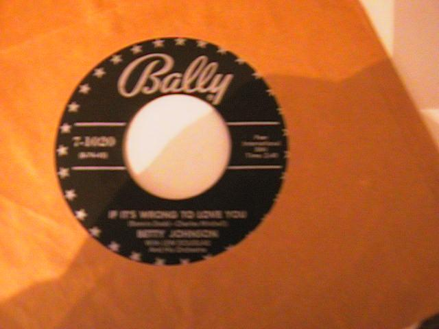 BETTY JOHNSON - BALLY 1020 { 766