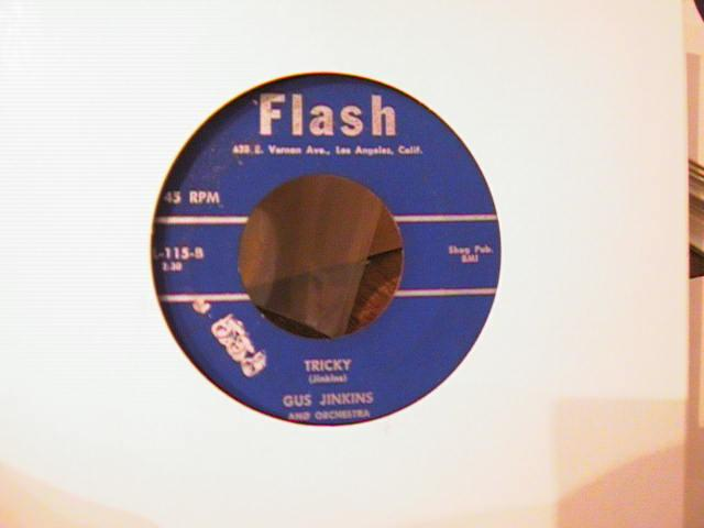 GUS JENKINS - FLASH RECORDS 115 { A 765