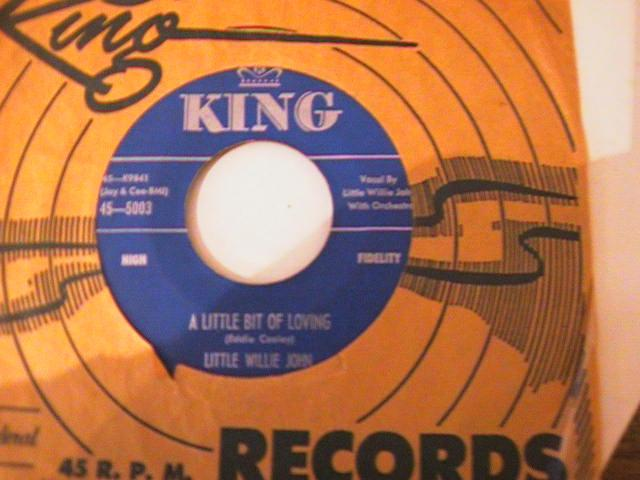 LITTLE WILLIE JOHN - KING 5003 { A 775