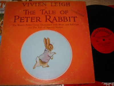 PETER RABBIT - VIVIEN LEIGH - WONDERLAND { R 1264