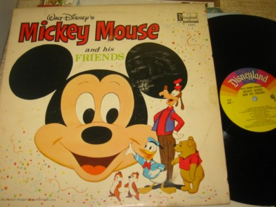 MICKEY MOUSE & FRIENDS - DISNEYLAND { R 1271