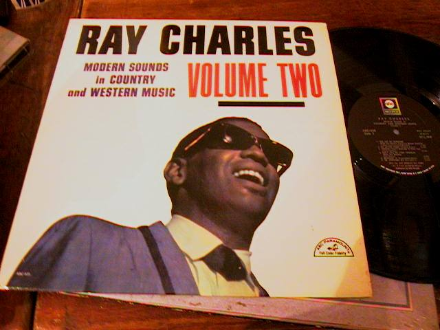 RAY CHARLES - COUNTRY WESTERN VOL 2 - 1962 ABC RECORDS