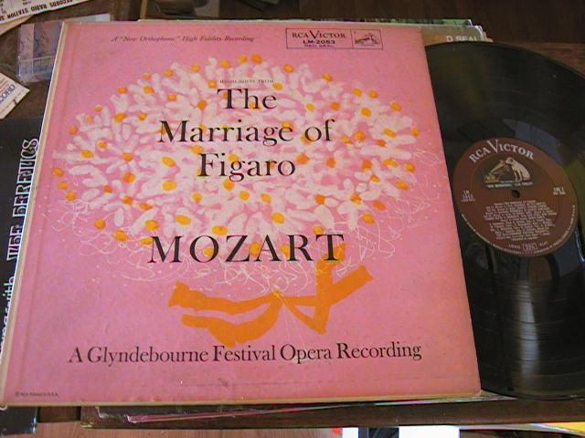MOZART - MARRIAGE OF FIGARO - JURINAC GUI - RCA 2