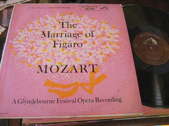 MOZART - MARRIAGE OF FIGARO - JURINAC GUI - RCA