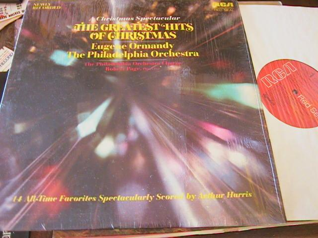 EUGENE ORMANDY - CHRISTMAS GREATEST HITS - RCA
