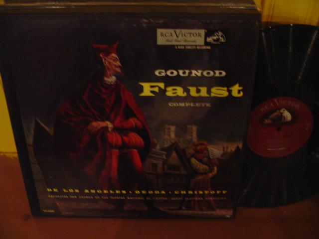 GOUNOD - FAUST - CLUYTENS LOS ANGELES - RCA LM6400
