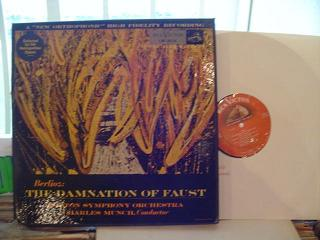 BERLIOZ - DAMNATION FAUST - MUNCH DANCO - RCA LM 6114