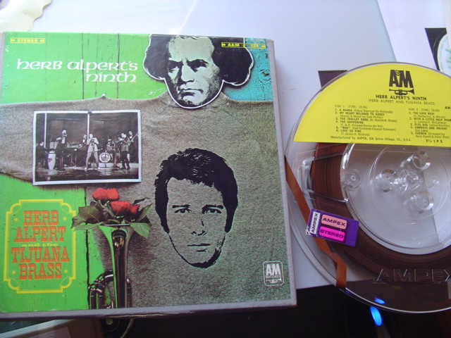 HERB ALPERT - NINTH - A & M - REEL TO REEL