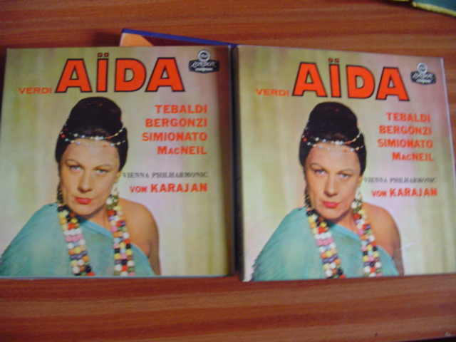 RENATA TEBALDI - SOPTLIGHT ON TEBALDI - REEL TO REEL