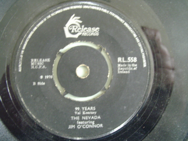 RL 0558 - JIM O'CONNOR & NEVADA - 99 YEARS - RELEASE